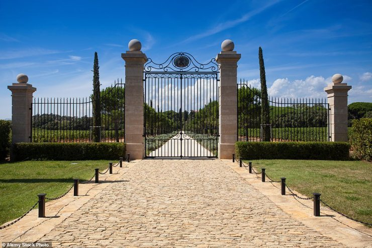 Chateau Leoube is an exclusive vineyard in the village of Bormes-les-Mimosas in Provence that produces some of France's finest rose wine
