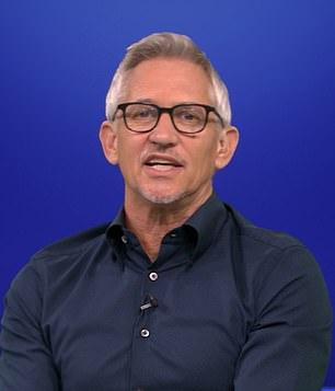 Match of the Day presenter Gary Lineker