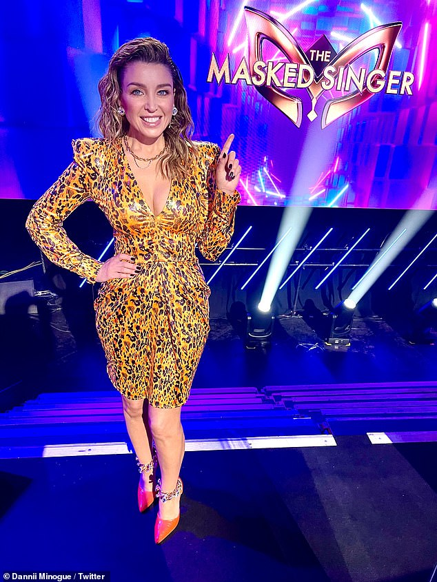 What's her secret? Age-defying Dannii Minogue, 49, shows off her wrinkle-free visage as she returns to screens on The Masked Singer Australia