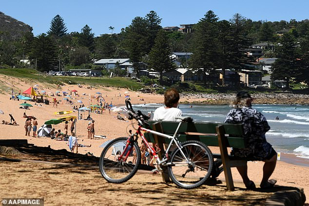 Lockdown has ended a fugitive's incredible 29 years on the run since breaking out of prison and living free under the radar on Sydney's Northern Beaches (pictured)