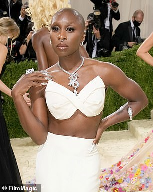 Exciting: Cynthia Erivo will star in the new Luther movie with Idris Elba