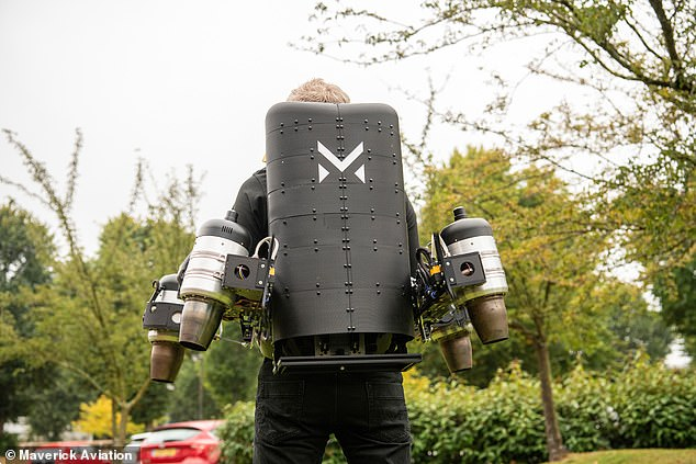 Unlike most current jetpacks, which require intense training to get the hang of it, the Maverick jetpack has an in-built autopilot system and is intuitive to control, according to the team.