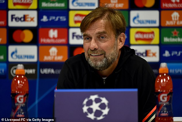 Jurgen Klopp admits Liverpool's Champions League group is the strongest he has faced as manager