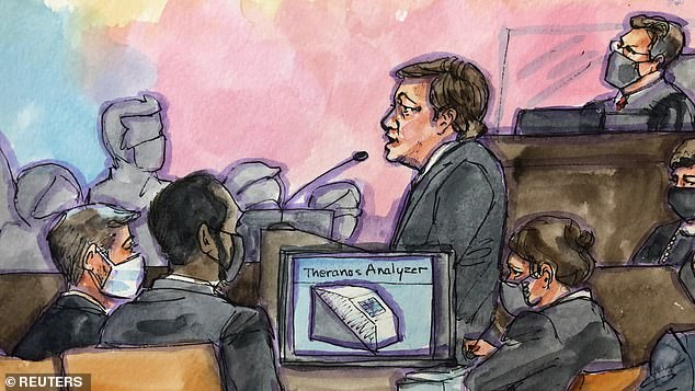Federal prosecutor Robert Leach wasted little time vilifying Holmes in opening arguments