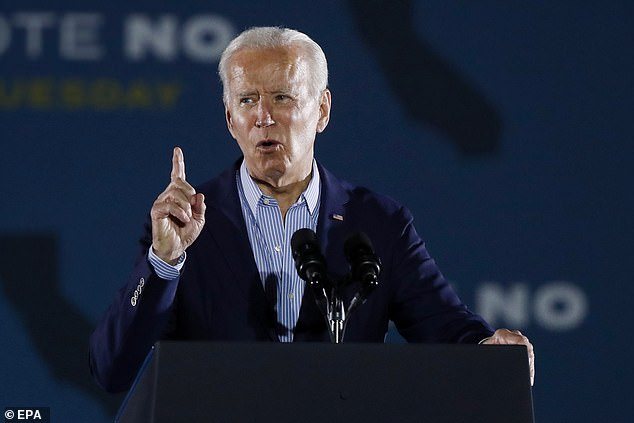 Biden last Thursday signed an executive order forcing businesses with over 100 employees to require vaccinations or weekly Covid-19 testing