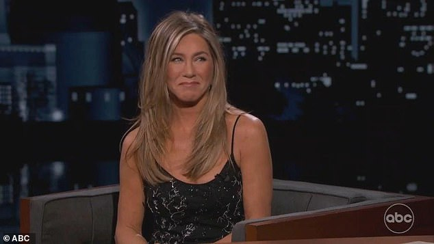 Doing her best: Jennifer Aniston admitted she won't be attending the Emmy Awards next week despite a nomination for Friends: The Reunion