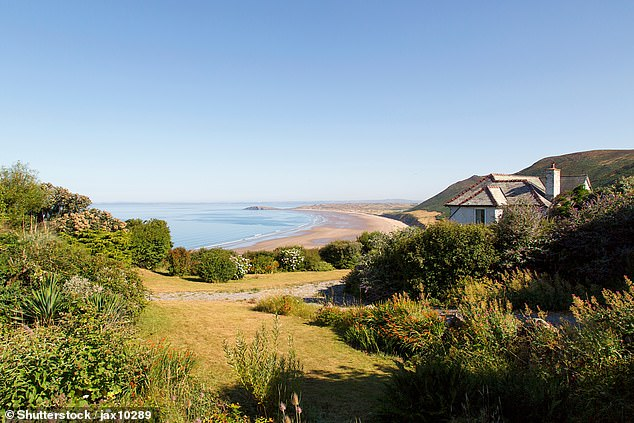 We do like to be beside the seaside: Research by Rightmove found that a buyer's dream home is a four-bedroom detached property in a coastal village