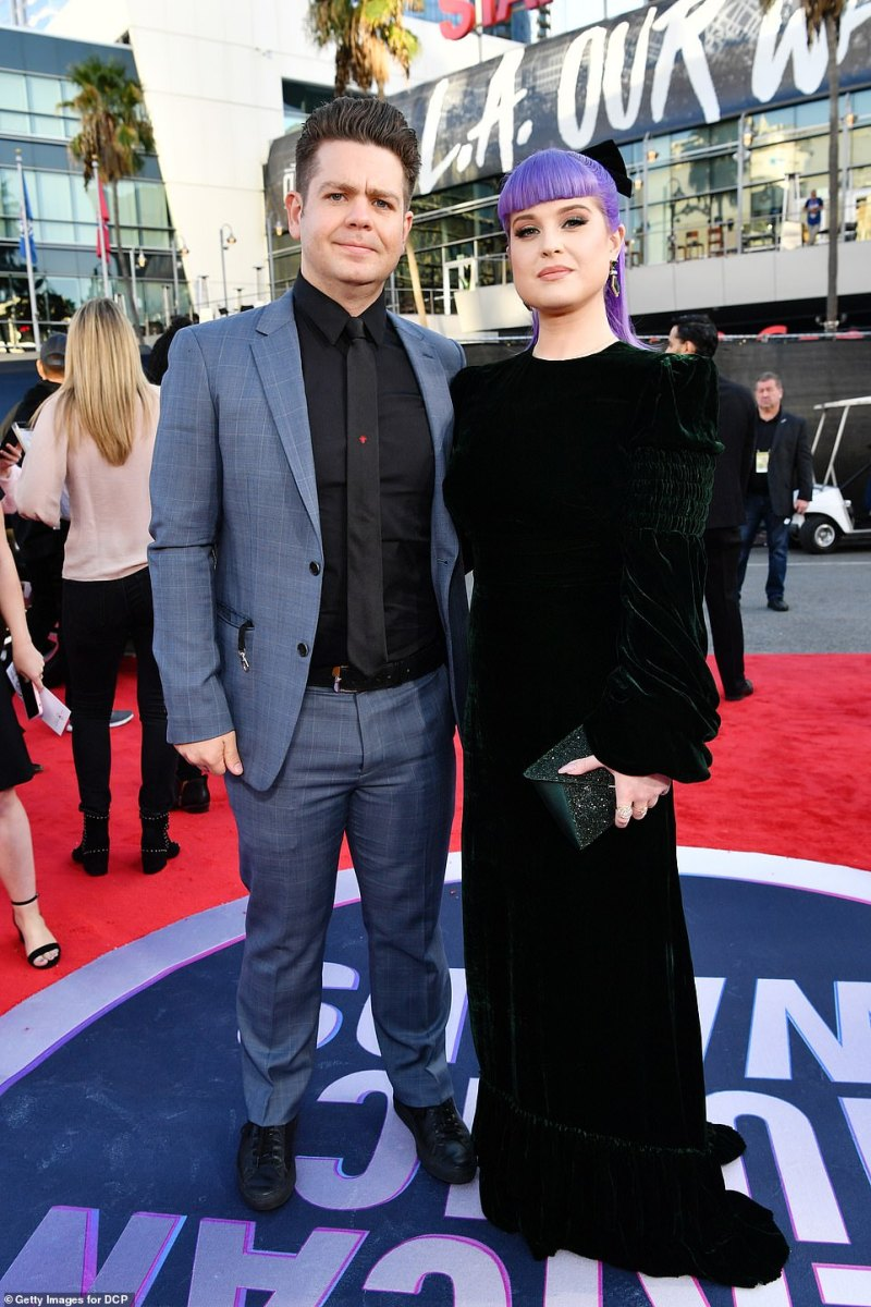 '[Jack's] still doing his extreme sports, he produces his own tv shows, he hosts some of the shows, he leads a normal life while dealing with his medical situation,' Sharon revealed (Jack and sister Kelly Osbourne pictured in 2019)