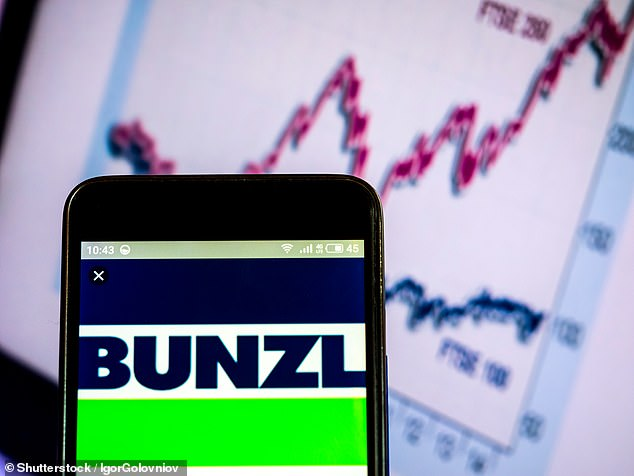 Shopping spree: FTSE 100 distribution firm Bunzl has bought Boston-basedMcCue Corp and Australian medical supplierMedShop