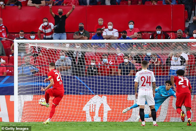 Sucic managed to tuck away the second penalty but then missed later from the spot