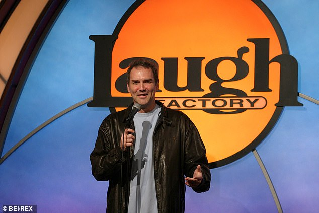 The former SNL star has died after a nine year secret battle with cancer. He is pictured at an event in Los Angeles in 2003 (pictured: Macdonald hosting the second annual Much Love Animal Rescue comedy charity event at Hollywood's Laugh Factory July 29, 2003)