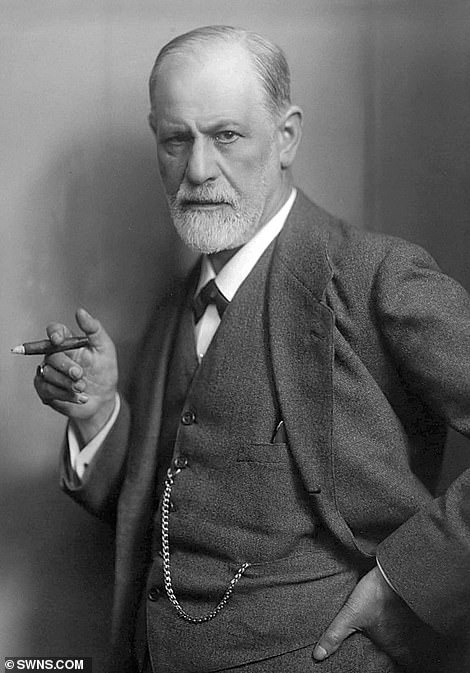 Muriel moved to Vienna in the hope that Sigmund Freud (above) would psychoanalyse her.