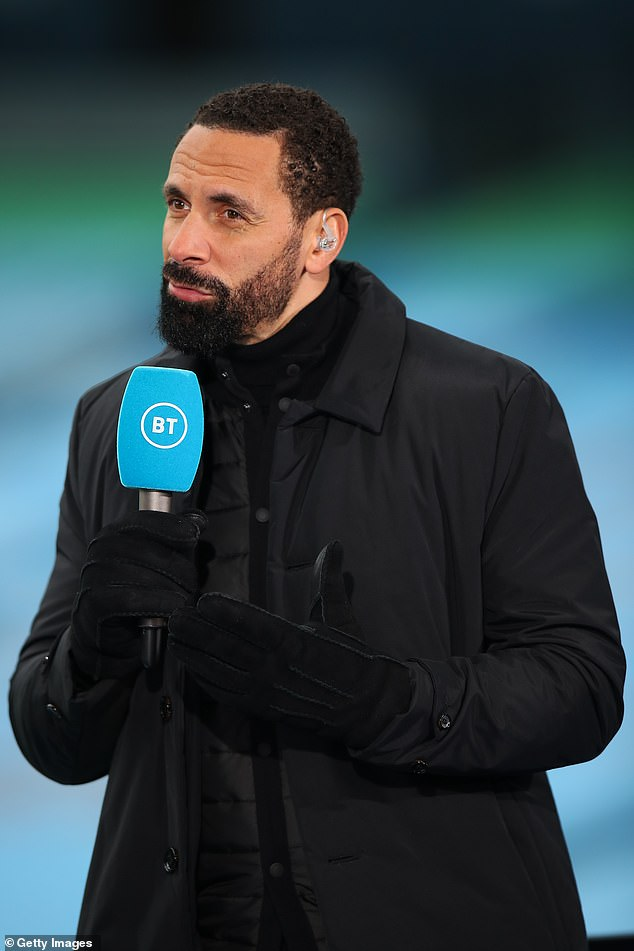 Ferdinand believes the game changed following the sending off of Aaron Wan-Bissaka