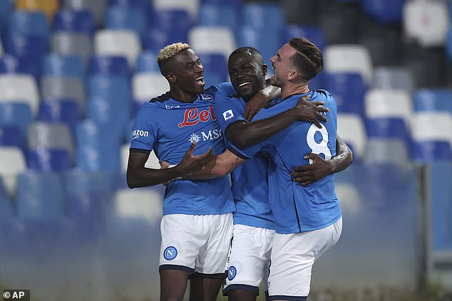 De Laurentiis' Napoli travel to Leicester on Thursday in a sensational run of form over in Italy