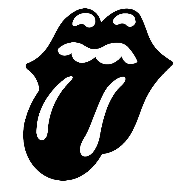 Change:Sir Mick Jagger, 78, Keith Richards, 77, and Ronnie Wood, 74, have decided to make their tongue logo from red to black in memory of drummer Charlie who died last month aged 80