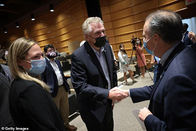 McAuliffe has been a staunch supporter of following CDC guidelines, particularly since he launched his campaign for re-election