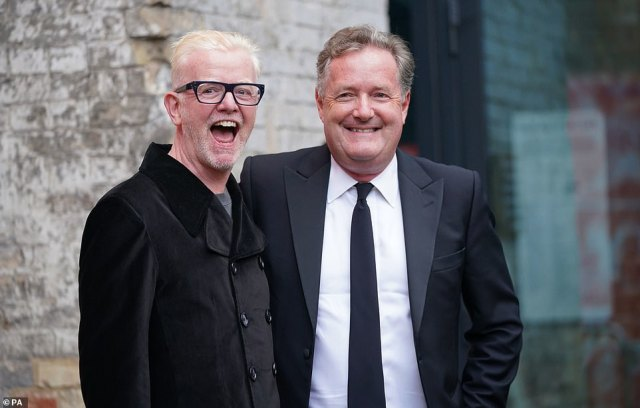 The singer later changed her Twitter bio to 'Rudest little madam' with a British flag in response to a Tweet by Piers Morgan (pictured right), who she also became embroiled in a row with