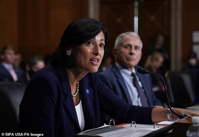 Biden administration officials are backing up the planned vaccine booster shot rollout with unpublished data from Israel, Politico reports.  Image: Dr Rosalee Valensky (CDC Director) and Dr Anthony Fauci testify before the Senate, July 2021