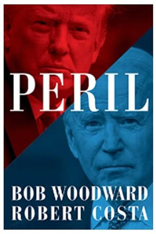 'Peril,' by Bob Woodward and Robert Costa will be released bySimon & Schuster on September 21