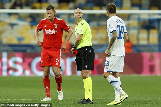Taylor will be back in action on Saturday when he will officiate Burnley versus Arsenal