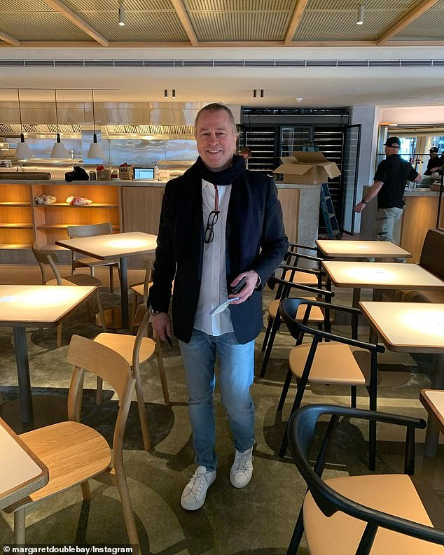 Sydney's reopening, due to kick off in mid-October, is strictly for the double-jabbed with government fines for having unvaccinated staff or customers (pictured, chef Neil Perry)