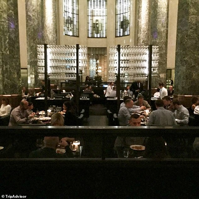 Neil Perry has recommended a 'temporary health order under the state of emergency' in the place of legislation to keep unvaccinated patrons in the cold (pictured, Rockpool Bar and Grill in Sydney)