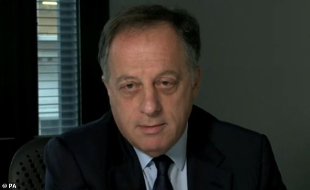 Richard Sharp (pictured above), 65, will say ¿urgent questions¿ need to be addressed, as conspiracy theories and lies have been able to flourish in ¿closed media environments¿