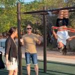 Viral TikTok shows a furious 'Karen' screaming at a woman for flashing her sports bra at a park 💥👩💥