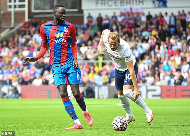Spurs couldn't set up Kane for a shot at Crystal Palace and things should quickly improve