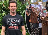 Hugh Jackman shows his support for the women ofAfghanistan 'facing violence and uncertainty'