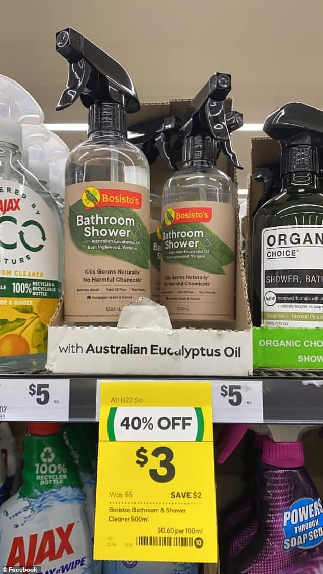One mum pointed out the popular product is currently on sale for just $3 at Woolworths