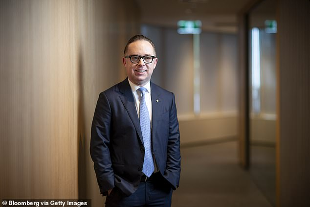 The company's CEO Alan Joyce (pictured) said the mandate would be to protect those flying who were vaccinated and ensure those aboard Qantas flights who are vaccinated can fly safely