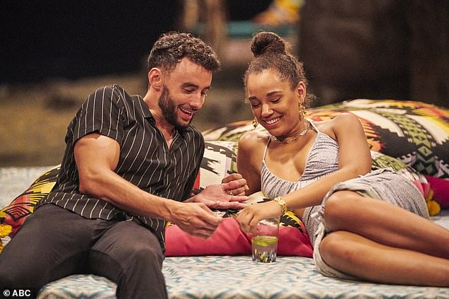 Early exit:Brendan Morais and Pieper James quit Bachelor In Paradise on Tuesday's episode after being accused of having a pre-existing relationship