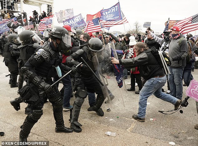 Four other officers who were on duty during the riot in January died by suicide after defending the site.Pro-Trump rioters breached the security perimeter and penetrated the U.S. Capitol to protest against the Electoral College vote count that would certify President-elect Joe Biden as the winner in Washington
