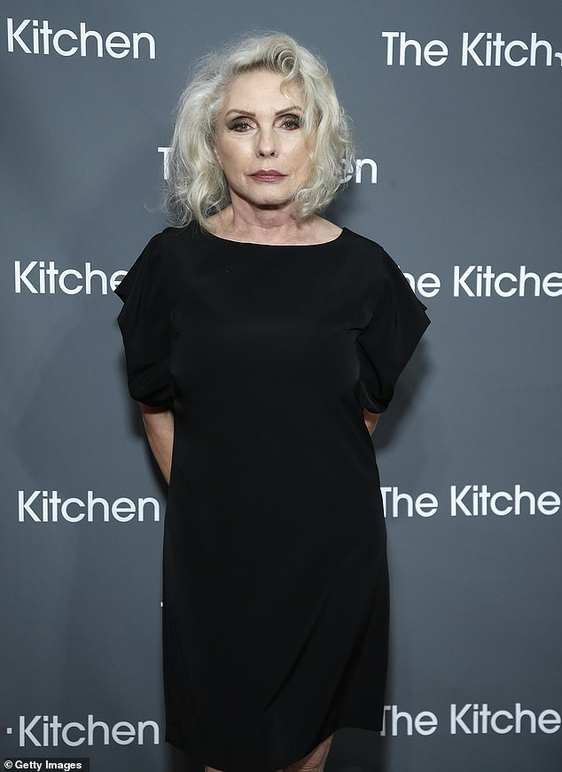 Debby:Debby Harry and Molly Ringwald hit the red carpet to support The Kitchen Gala in New York City