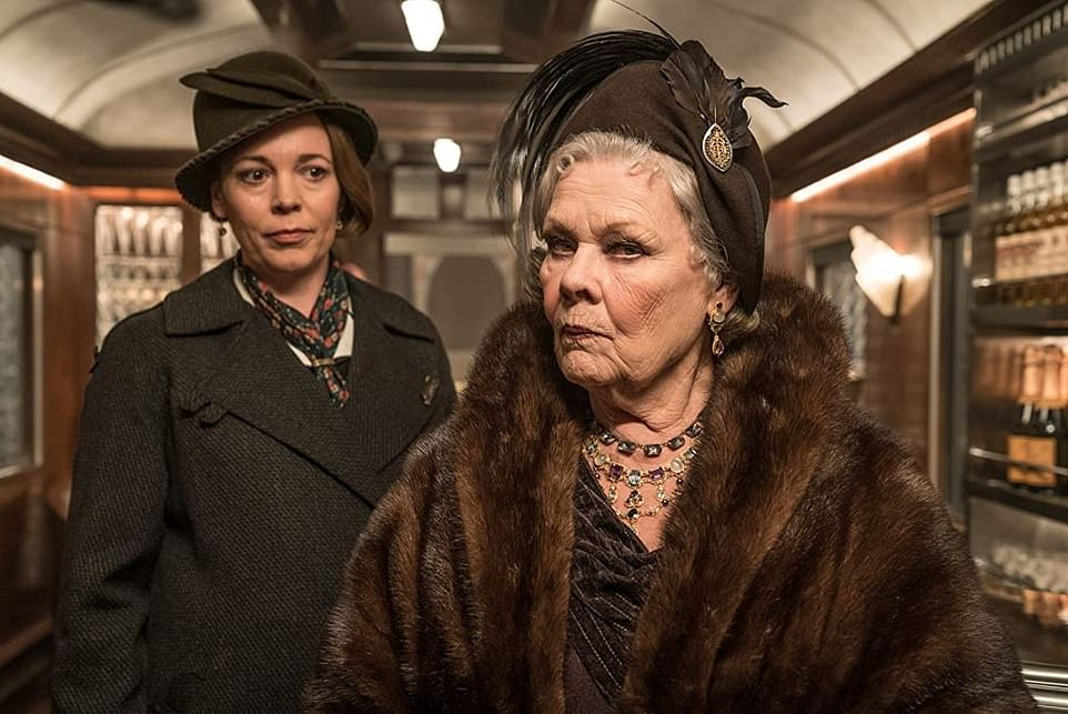 Olivia Colman and Judi Dench helped keep Murder on the Orient Express on the right track