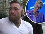 Conor McGregor expresses that there is 'no beef' between him and Machine Gun Kelly