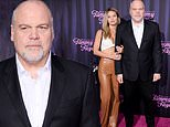 Vincent D'Onofrio, 62, poses with daughter Leila George, 29, at The Eyes Of Tammy Faye premiere