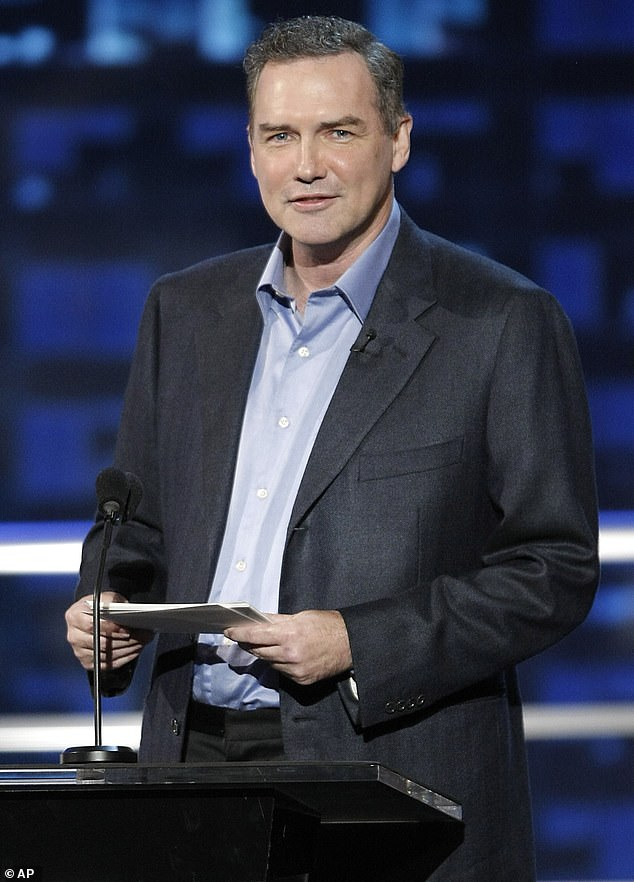 Top comic: Saturday Night Live veteran Norm Macdonald, shown in August 2008 in Burbank, California, died Tuesday at age 61 after a privatenine-year battle with cancer