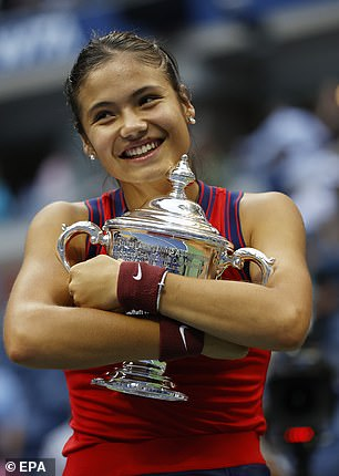 US Open champion Emma Raducanu