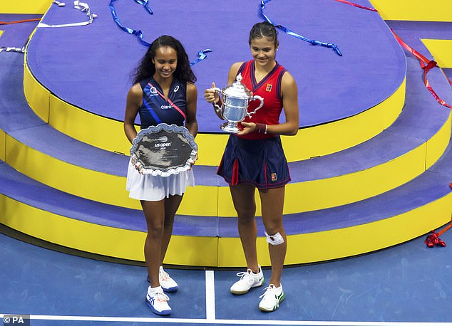 Redukanu won the US Open two months later by defeating Leyla Fernandez in the final