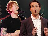Ed Sheeran reveals he hired comedian Jimmy Carr as a backing singer for his new album Equals