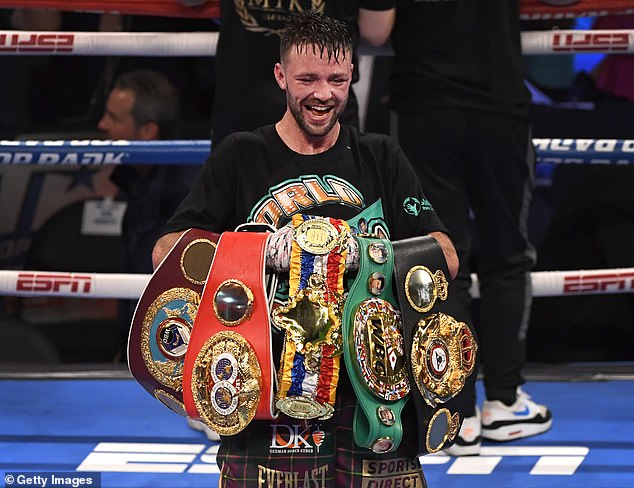 A fight with undisputed light-welterweight champion Josh Taylor could be next for Crawford