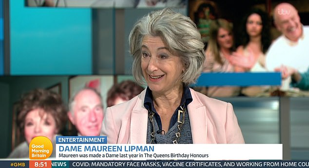 The Queen 'is a geezer' and was 'loved by everyone on the Coronation Street set', according to soap legend Dame Maureen Lipman