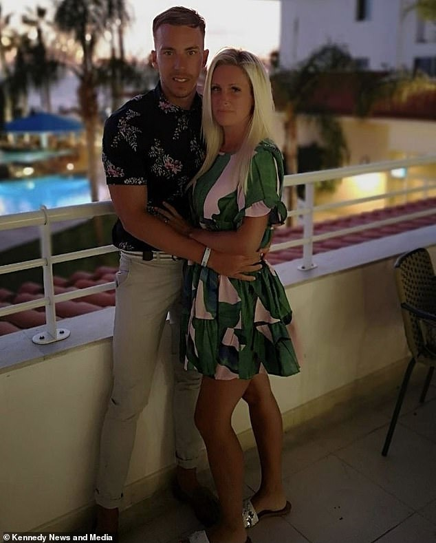 Beautician Kate is holidaying with her husband.  Couple claim they have 'worst luck' with contraception