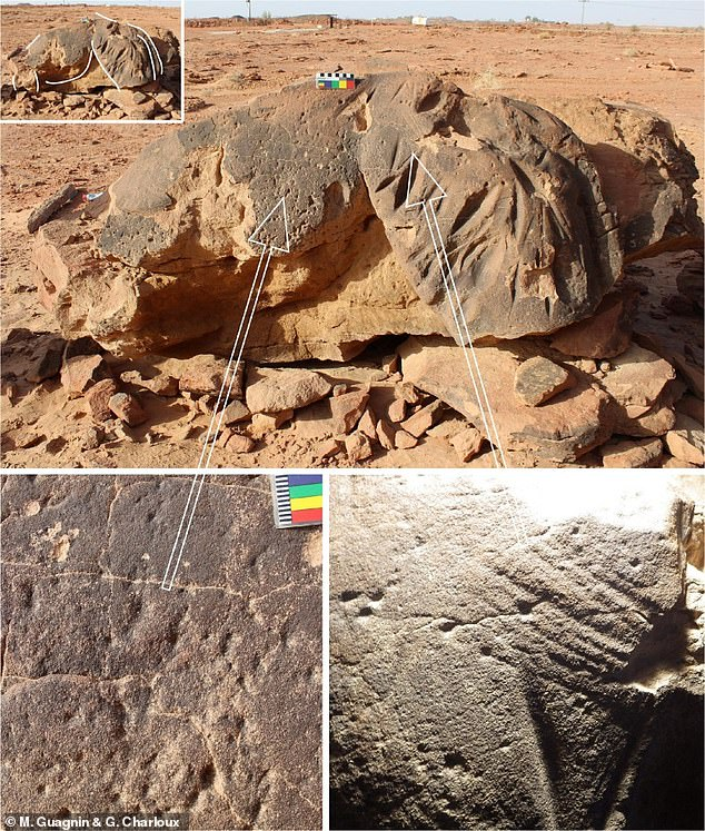 By the end of the 6th millennium BC, if not all of the reliefs were made, the Camel site reliefs make up the oldest surviving large-scale reliefs known in the world.