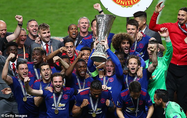 Manchester United last won the Europa League in 2017 - one of four trophies since 2013
