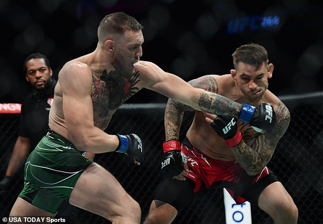 After his loss by Poirier and injury lay-off, McGregor admitted he was 'upset for a little while'