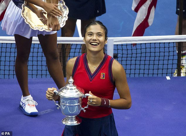 Emma Raducanu did not drop a set along her way to becoming the champion at the US Open