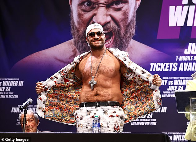 Fury had to pull out of their initial July 24 date after he and some of his camp tested positive
